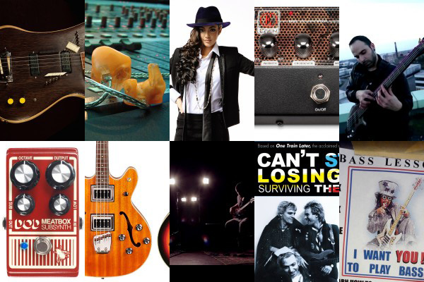 Weekly Top 10: Bass Gear from Summer NAMM, Stage Sound, Top Videos, Getting the Most of a Lesson and More