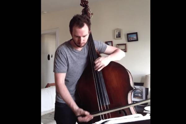 "Alex Spradling: John Coltrane's ""Countdown"" Solo on Double Bass"