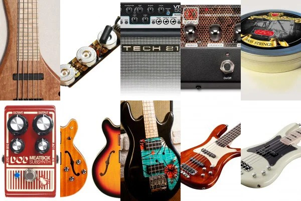 Bass Gear Roundup: The Top Gear Stories in July 2015