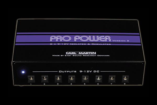 Carl Martin Unveils ProPower Version 2