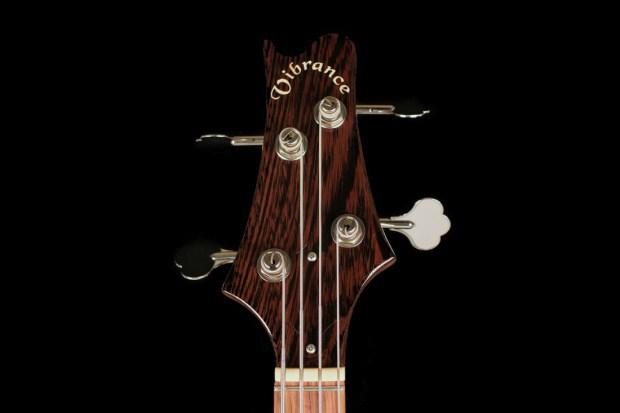 Vibrance Guitars Bass 4 Headstock