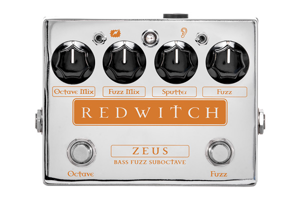 Red Witch Unveils Zeus Bass Fuzz Suboctave Pedal