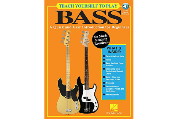 Hal Leonard Book Promises Easy Way to Learn Bass