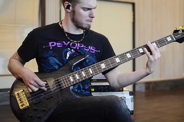 "Ilja John Lappin: Bass Playthrough of The Hirsch Effekt's ""Bezoar"""