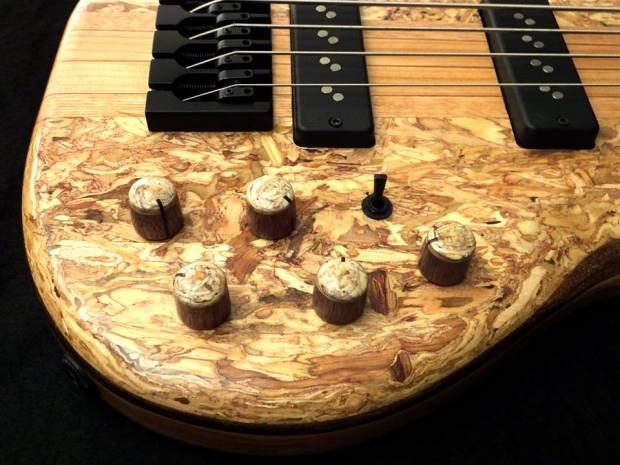 Lea Bass Guitars Dumpster Bass Controls