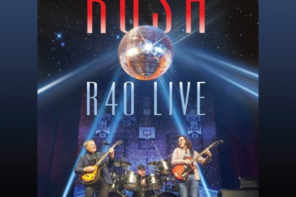 """Rush Releases """"R40 Live"""""""