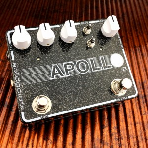 SolidGoldFX Introduces The Apollo II Phaser Pedal