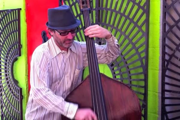 "Craig Akin: ""Sanford and Son"" Theme on Upright Bass"