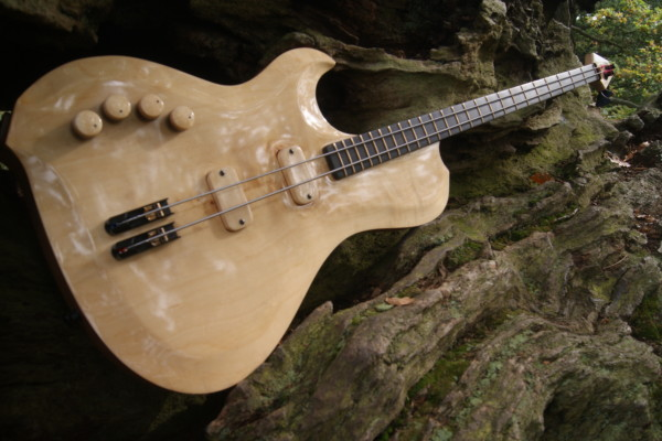 Bass of the Week: Letts Basses Yves Carbonne Signature 2-String Bass