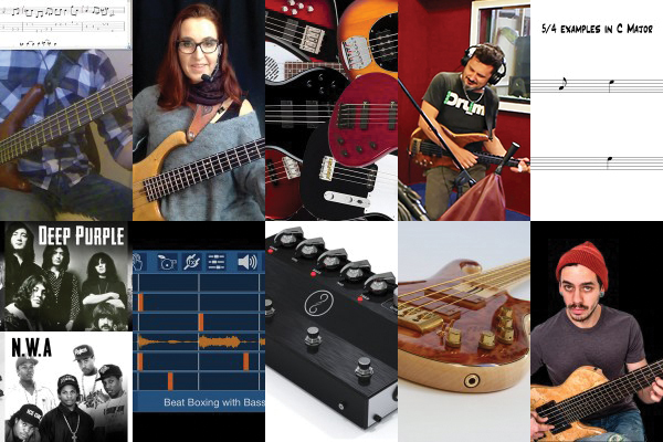 Weekly Top 10: Felix Pastorius Podcast, Talking Technique, Writing Basslines, Top Bass Videos, New Gear and More
