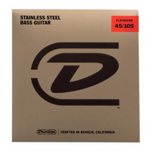 Dunlop Introduces Flatwound Bass Strings