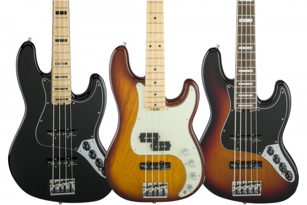 Fender Unveils American Elite Series Basses