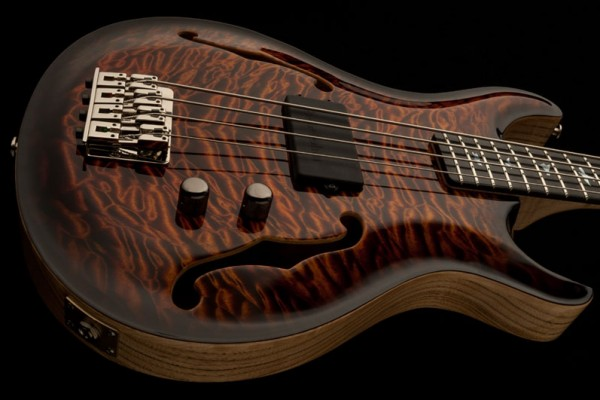 Bass of the Week: PRS Guitars Private Stock Hollowbody Bass 4