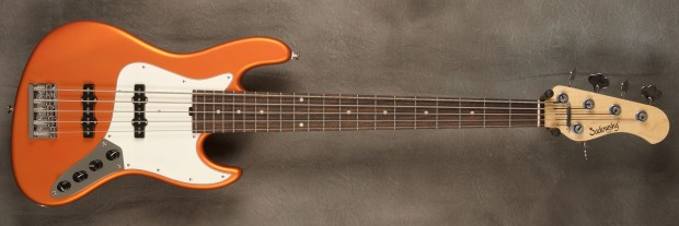Sadowsky Satin Series 21-fret Orange Bass
