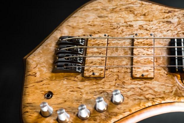 Tuli Bass 4-string Closeup