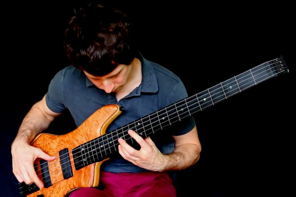 "Zander Zon: Adele's ""Hello"" for Solo Fretless Bass"