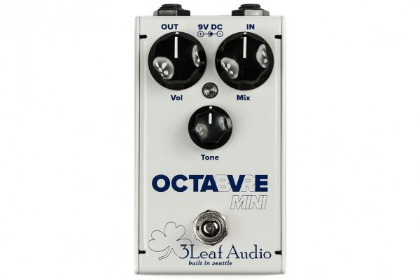 3Leaf Audio Introduces Octabvre Mini Octave Pedal