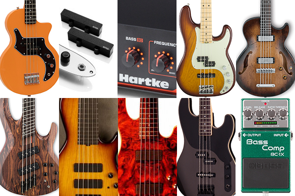 Bass Gear Roundup: The Top Gear Stories in February 2016