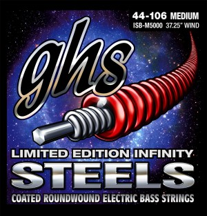 GHS Limited Edition Infinity Steels Bass String