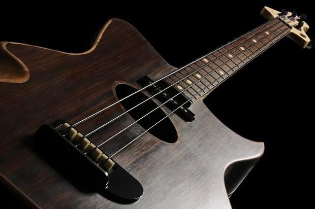 Gillett Guitars Contour Bass Body
