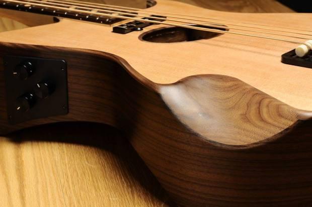 Gillett Guitars Contour Bass Contours