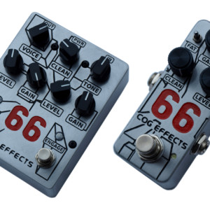 Cog Effects Introduces Knightfall 66 and Mini 66 Overdrive Pedals