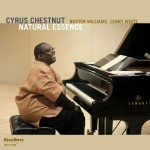 Piano Trio Album from Cyrus Chestnut Features Jazz Bass Great