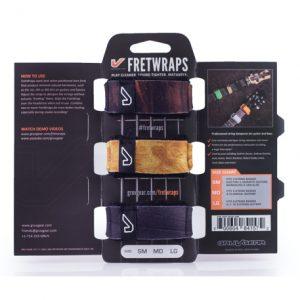 Gruv Gear FretWraps Wood 3-Pack String Muters