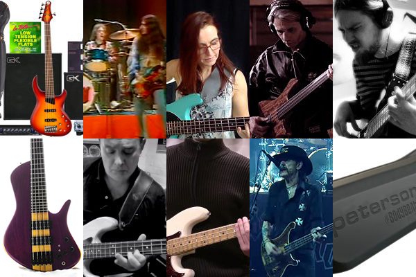 "Weekly Top 10: Robert ""Bubby"" Lewis Bass Gear Contest, Talking Technique, Top Bass Videos, Lessons and More"