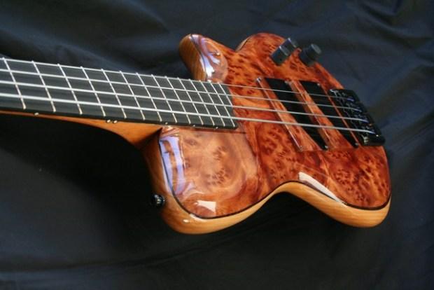 AJR Guitars Singlecut Bass Angle
