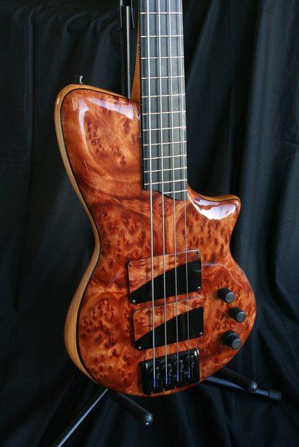 AJR Guitars Singlecut Bass Body