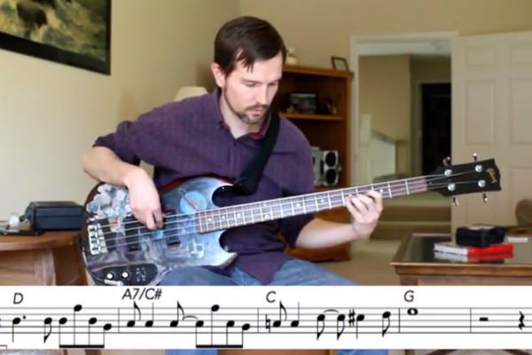 "Bass Transcription: Dee Murray's Bass Line on Elton John's ""Amoreena"""