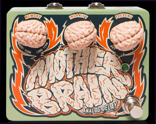 Dr No Effects MotherBrain Analog Delay Pedal