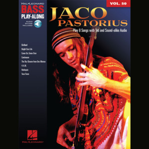 Jaco Pastorius Play-Along Book Published