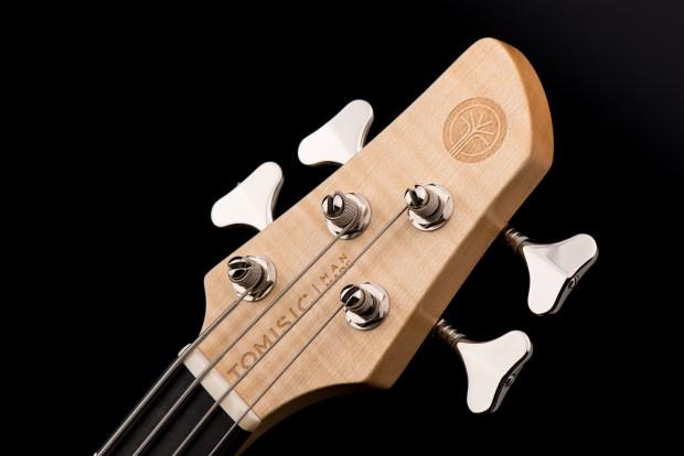 Tomisic MarkOne Bass Headstock