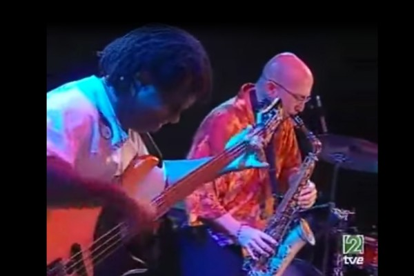 Victor Wooten and Jeff Coffin Live