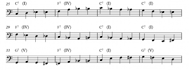A Beginners Guide to Improvising a Bass Line - Exercise 6