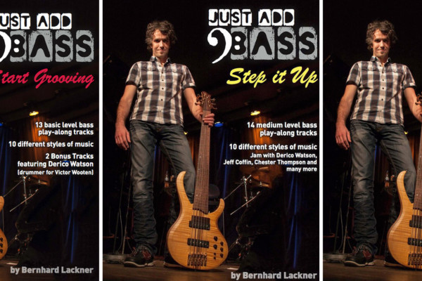 Bernhard Lackner Releases Three New Bass Instruction Books