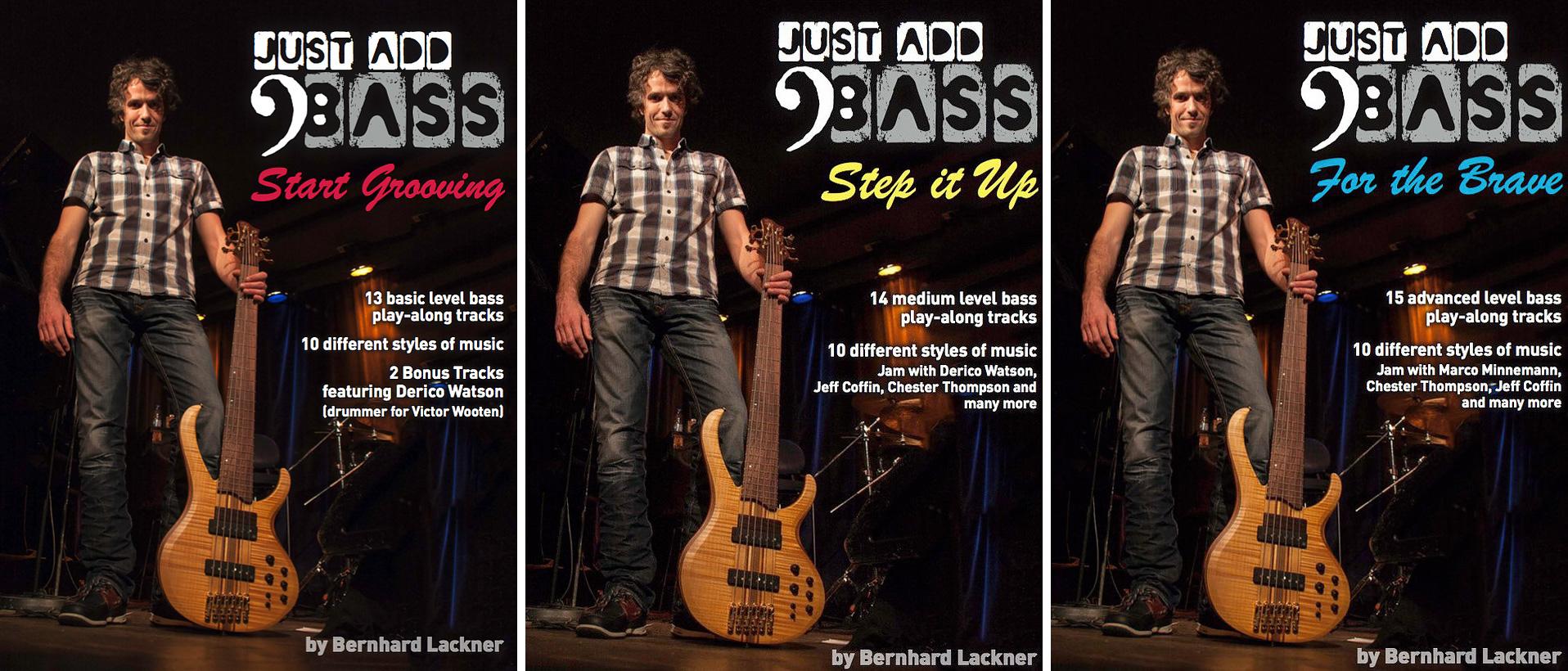 Bernhard Lackner Just Add Bass Instructional Books