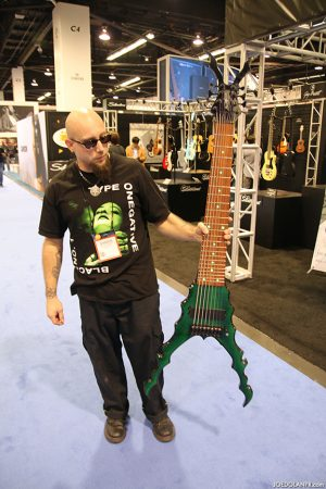 Shawn Shannon with bass