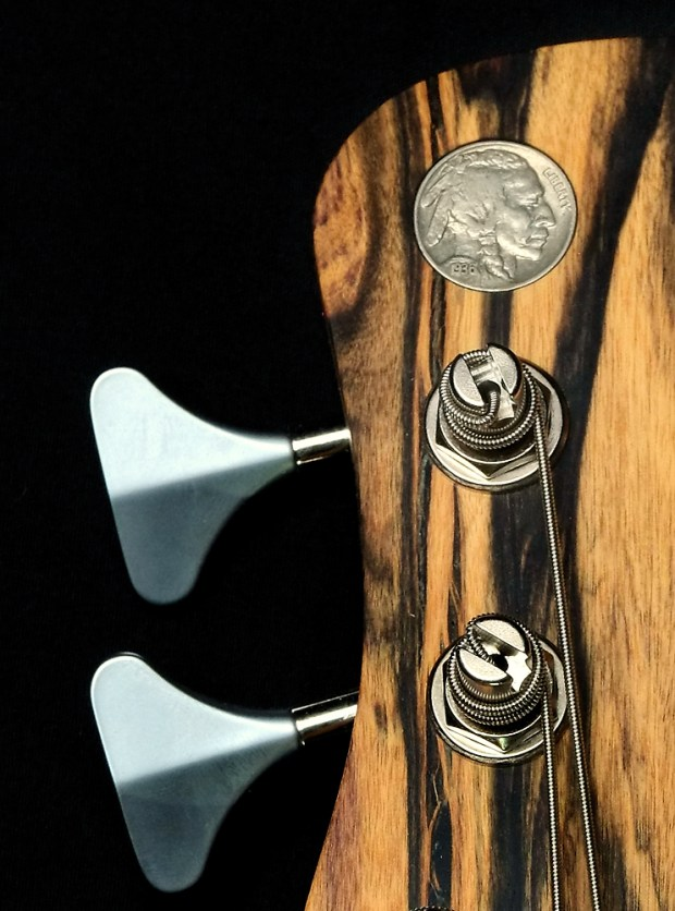 Nichols Guitar Company Seas of Cheese Bass Headstock Inlay
