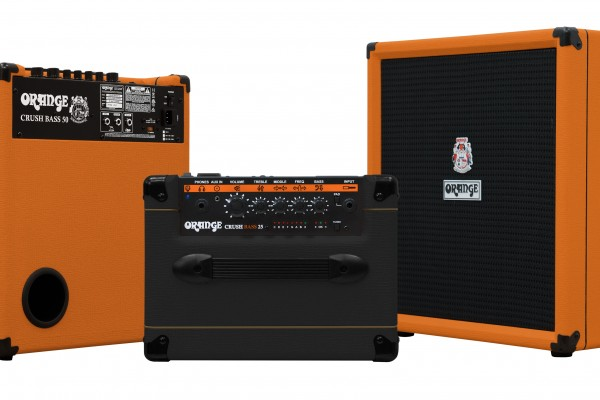 Orange Amplification Introduces The Crush Bass Combo Series