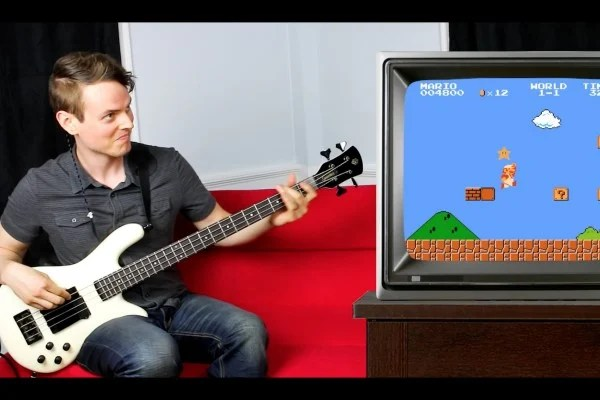 Nathan Navarro: Super Mario Bass Guitar Playthrough