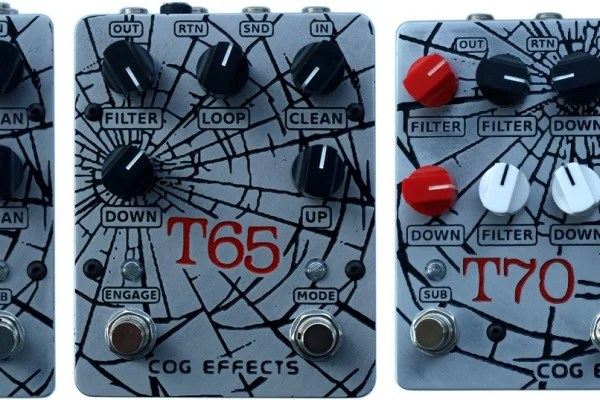 Cog Effects Expands Octave Pedal Series