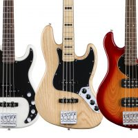 Fender Updates Deluxe Series Basses