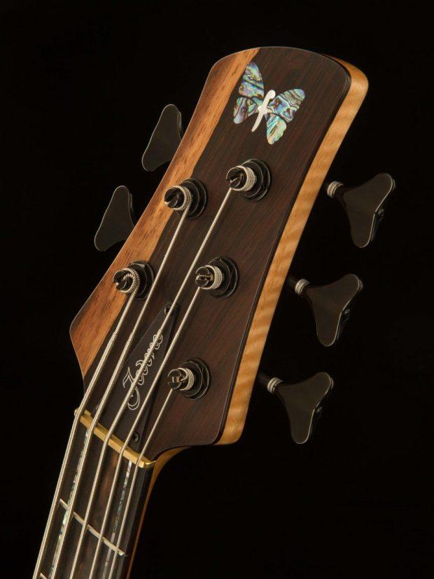 Fodera Masterbuilt Kestrel Bass Headstock