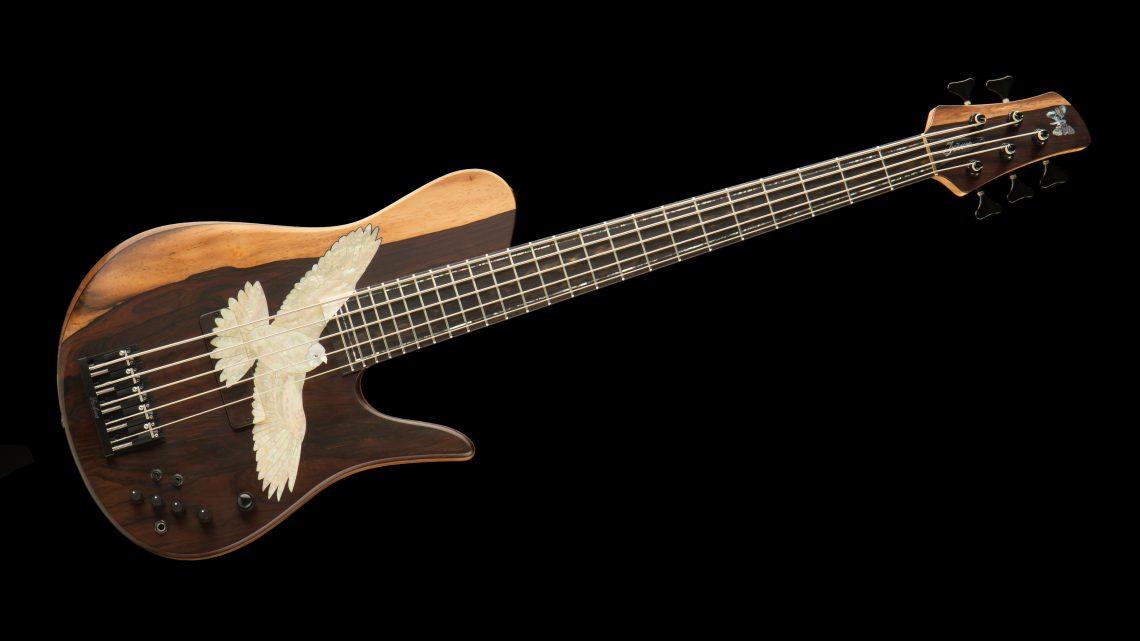 Fodera Masterbuilt Kestrel Bass Horizontal