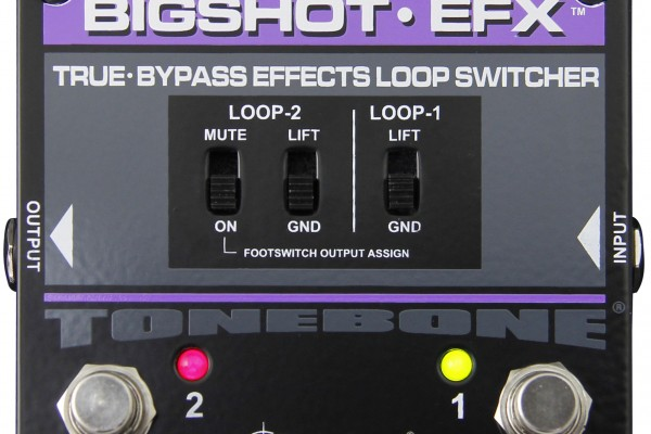 Radial Engineering Adds Bigshot EFX to ToneBone Series
