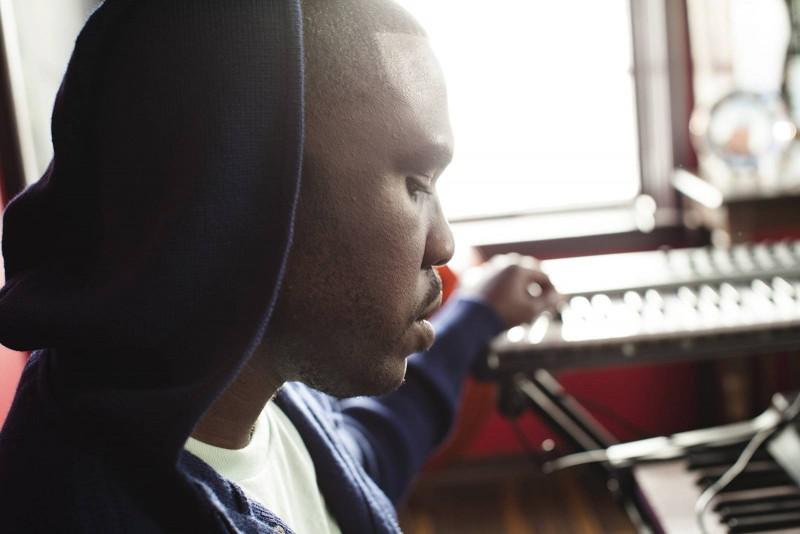 Derrick Hodge playing keys