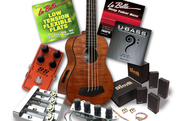 "Contest: Win a ""Lords of the Low End"" Bass Gear Prize Pack from La Bella, Sadowsky, Kala, SimS, Xotic and Hipshot"